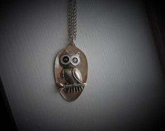 Vintage Spoon Necklace #1216