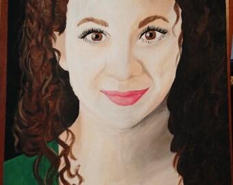 Personalized / Custom Painted Portraits, Acrylic