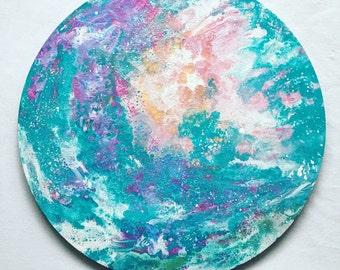 Dulcedo-original fluid type on circle canvas