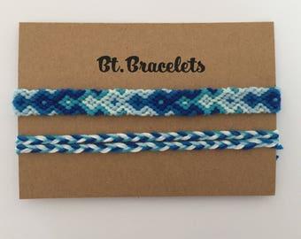 Bracelets Blue Friendshipbracelets Blue 3.00