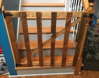 Pallet Toddler Gate
