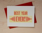 Best Year Ever card