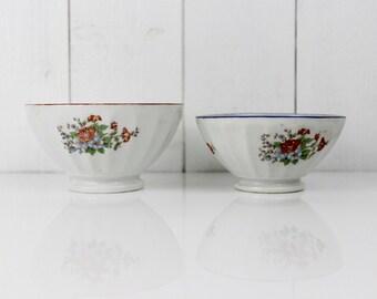French coffee bowl - Cafe au lait bowl, Coffee bowl, Large bowl, French vintage bowl, Ceramic, Vintage bowl, Vintage Kitchen, D351