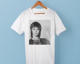 Jane Fonda Mugshot T-Shirt