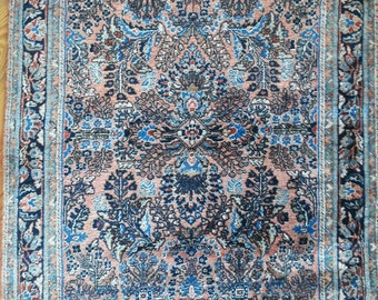 Antique Sarouk rug persian rug 168 × 111 cm 5.51 × 3.8 ft