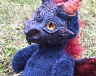 Little Blue Dragon Fire