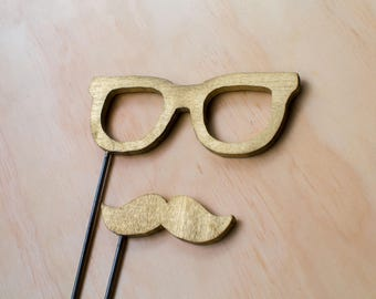 Mustache and Glasses Prop