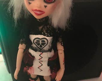 Broken Hearts Custom Bratzillaz Doll!!