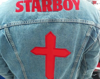 Starboy Denim Jacket custom made