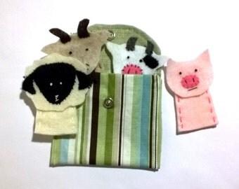 Lil Puppet Farm Set