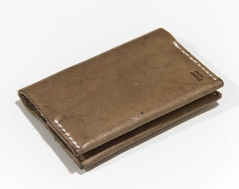Jackdaw Leather Card Wallet