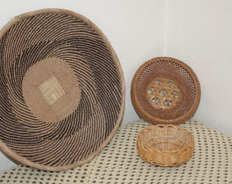 "Set of 3 baskets baskets basketry ""french Country FRANCE"""
