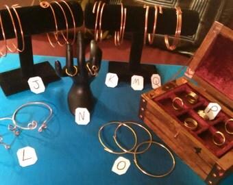 Unique Copper/brass Jewelry