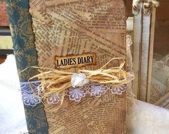 Ladies Diary,Ladies Journal ,romantic diary,wedding guest book