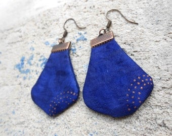 Earrings - unique - 'sand' collection