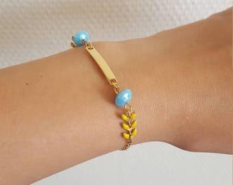 End summer bracelet