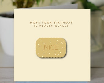 Hope Your Birthday Is Really Nice card