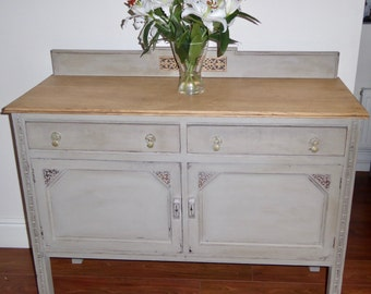 NOW **SOLD** Vintage Oak Sideboard/Cabinet