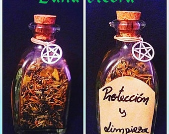 BOTTLE PROTECTION WICCA