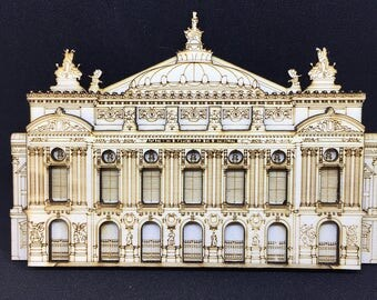Opera Garnier Paris fridge magnet