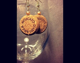 Moscato Cork Earrings