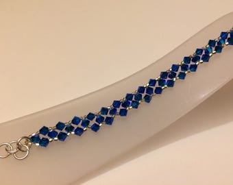 Sparkling Blue Bracelet