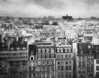Paris, petite pluie - Photo, Tirage d'art