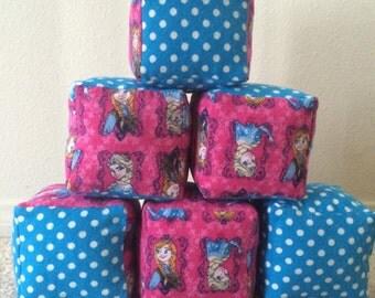 Stuffed Baby/Toddler Blocks