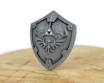 Legend of Zelda Hylian Shield Cold Cast Necklace
