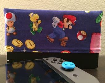 Super Mario Dock Sock for Nintendo Switch