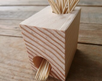"Toothpick holder ""Block"""