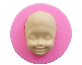 Baby / Child Face Silicone Mold