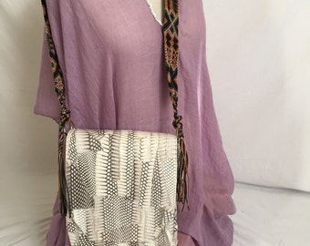 Woman Rustic purse leather