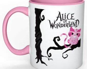 Alice in wonderland mug ~cheshire cat~