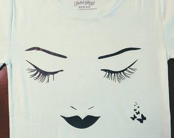 Beautiful  face art