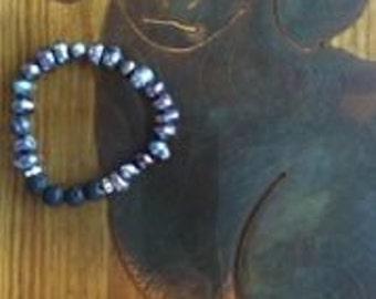 Fresh Water Pearl Essential Oil Diffuser Bracelet