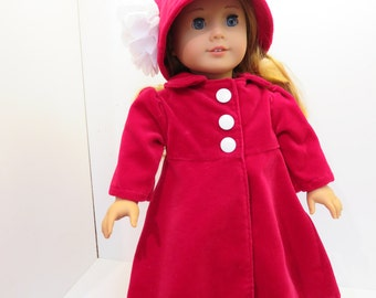 """Doll Clothes for American Girl Dolls & Other 18"""" Dolls"""