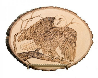 Eagle Wood Carving