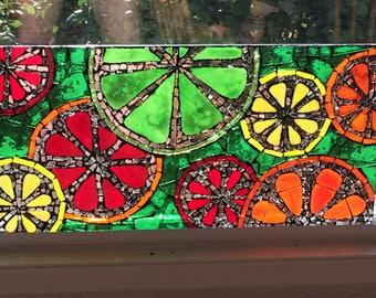 Citrus Fruit Mosaic