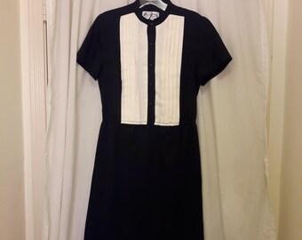 Vintage Tuxedo Dress