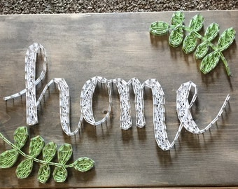 Home String Art Board
