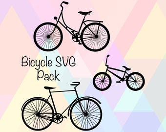 Bicycle Clipart SVG | Bicycle Stencil File | Bicycle SVG File | Bike Svg File | Bicycle Png | Bicycle Eps | Bicycle Dxf | Bicycle Cut File