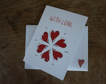 With Love // Greetings Card