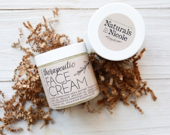 Face Cream - Organic Moisturizer - All Natural Face Cream - Night Time Moisturizer - Dry Skin Moisturizer - Sensitive Skin Moistuizer