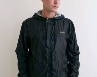 Men's 90's Adidas Wet Look Sports Jacket