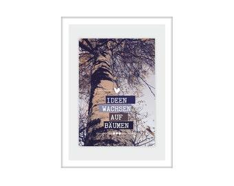 "PRINT ""Ideas grow on trees"""