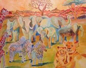 Peace in the Safari