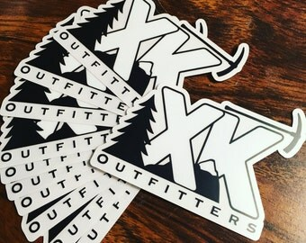 XK Outfitters Decal