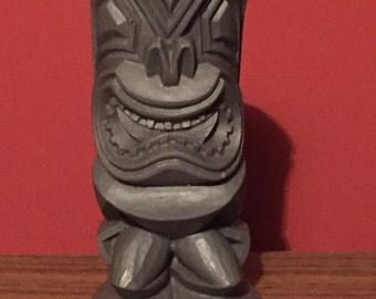 Handmade Tiki Statue Figure Hawaii Rockabilly VLV Gear Shift Hot Rod