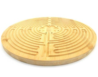 Finger Labyrinth for Meditation and Prayer - Chartres Style - 12.5""